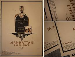 manhattan drink illustration woodford reserve manhattan experience boxing clever