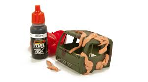 how to paint a nato truck ammo by mig jimenez