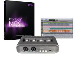 avid pro tools mp 9 software with m audio mobilepre bundle