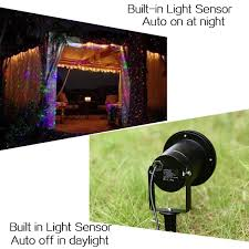 Firefly Laser Outdoor Lights by 2x Rgb Led Dynamic Firefly Laser Projector Light Outdoor Christmas