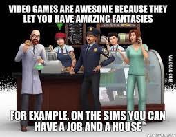 Meme Caption Font - sims memes
