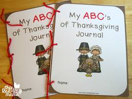 my abc s of thanksgiving journal