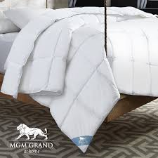 mgm grand at home all season down alternative comforter u0026 reviews