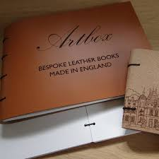 leather photo albums engraved bespoke engraved leather guest book and photo album by artbox