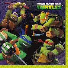 nickelodeon teenage mutant ninja turtles lunch napkins 16