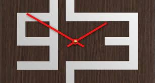 cool wooden clock design kids wall clock etsy house design and