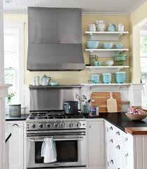blue kitchen cabinets and yellow walls yellow decor decorating with yellow