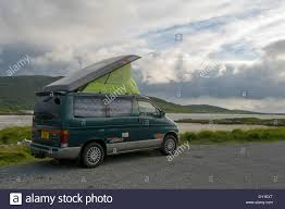 mazda bongo mazda bongo campervan at a west harris trust camping spot on the