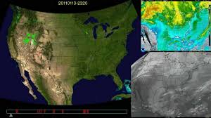 Satellite Weather Map 2011 Whole Year Weather Radar U0026 Satellite U S Youtube