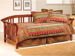 White Wooden Daybed Daybed Awesome Daybed Wood Beds And Interior Design Brown