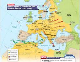 Map Of Europe 1938 by Ms Alia Abuoriban Social Studies