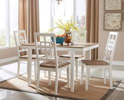 dining room sets with fabric chairs amazon com ashley furniture signature design brovada