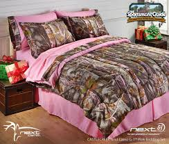 camo home decor pink realtree bed next camo bedding from castlecreek now