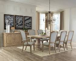 Natural Wood Dining Room Table by Florence 180201 Donny Osmond Dining Table In Natural Wood