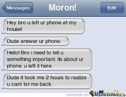 moron by goku meme center