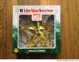 mad for mid century vintage light up tree topper