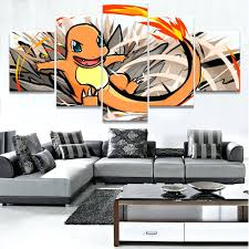 wall ideas pokemon wall decor pokemon wall decor pokemon pokemon removable wall decorations pokemon wall decor 5 piece canvas print pokemon anime poster modern decorative paintings on canvas wall art for home