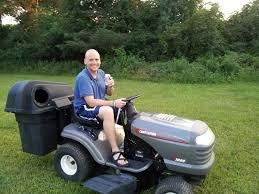 a new gadget a riding mower