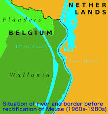Map Of Belgium And Germany Belgium And The Netherlands Swap Land Without A Single Shot Being