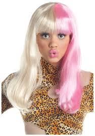 white halloween wigs multicolor wigs