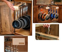 kitchen pot and pan rack for organize the containers and utensils