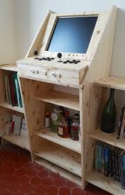 Building A Mame Cabinet Guys Build Arcade Shelf Combo Thechive