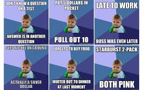 Success Baby Meme - how success kid s internet fame saved his dad s life