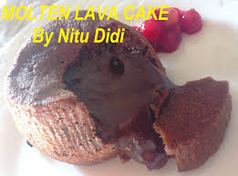 molten lava chocolate cake nitu didi