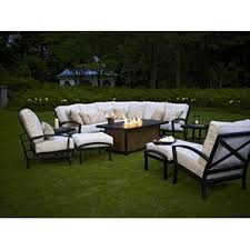 Wicker Sectional Patio Furniture by Outdoor Patio Sectional Sofas U0026 Loveseats Wayfair