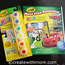 create with mom colouring with crayola