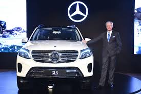 mercedes benz ceo mercedes launches the luxurious and powerful gls 350d