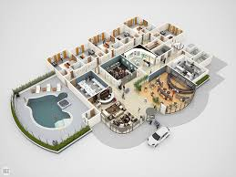 conceptual 3d hotel floor plan for e learning jericho domingo