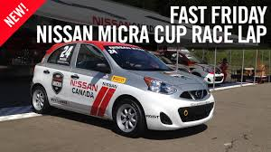 nissan canada nissan micra cup racing race lap mont tremblant youtube
