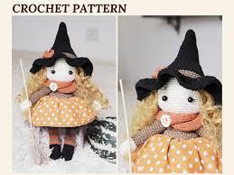 amigurumi witch pattern crochet witch pattern amigurumi witch doll halloween witch