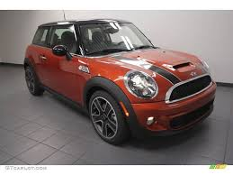 2013 spice orange metallic mini cooper s hardtop 73440840