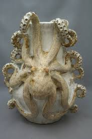large ceramic octopus vase by shayne greco by shaynegreco on etsy