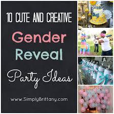 gender reveal party ideas gender reveal party ideas simply