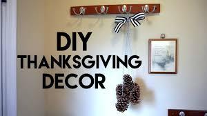 diy thanksgiving decor pine cone wall hanging air freshener