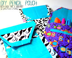 home design duct tape crafts for pencil case craft room