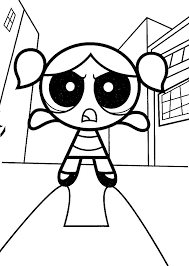 powerpuff girls coloring pages coloringpages1001