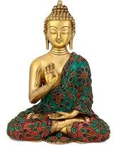 Buddha Home Decor Statues Incredible Deal On Craftvatika Beautiful Antique Blessing Buddha