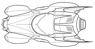 batman car coloring pages printable coloring pages