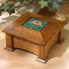 Build Wood End Tables by Downloadable Woodworking Project Plan To Build Arts And Crafts End