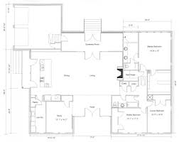 Luxury Ranch Floor Plans Ranch Style House Plans With Open Floor Plan Retro Modern Luxury