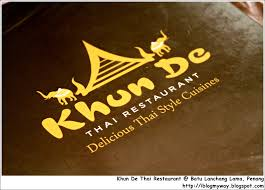 khun de thai restaurant batu lanchang lama penang i blog my way
