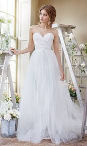 tulle wedding dresses best 25 floaty wedding dress ideas on unique wedding