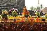 Vesak Day In Indonesia ��� Beautiful Observance Under The Brightest.