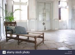 Entrance Hall Table by In The Stately Entrance Hall An Old Lounging Chair Chaise Longue