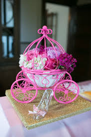 carriage centerpiece top 10 cinderella princess birthday party ideas loulou jones