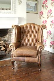 High Back Chairs by Wing Back Chairs Popular Leather Wing Back And Leather Wingback